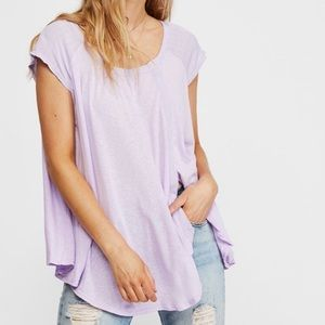 New Free People Oversized Keep It Casual T…
